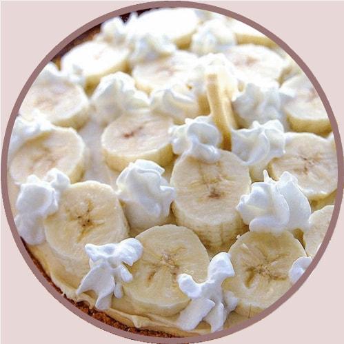 cheesecake bananes